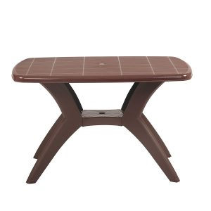 cross leg plastic foldable dinning table