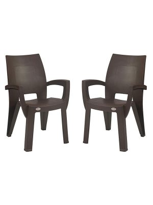 set of plastic chairs
