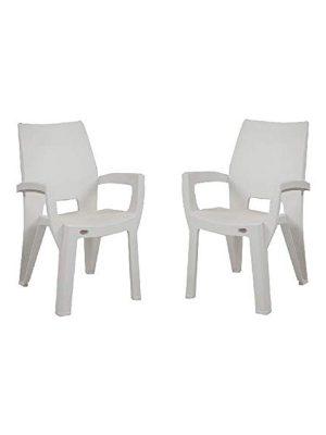 Set of plastic chair