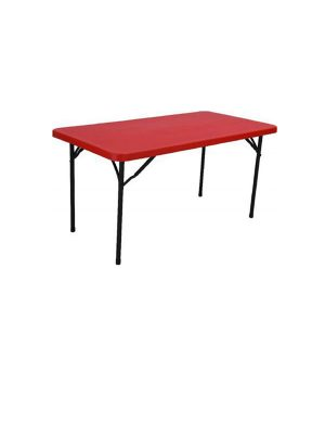 Foldable high quality plastic dinning table