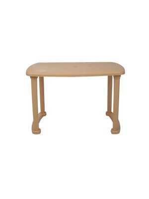 Plastic table in Beige color