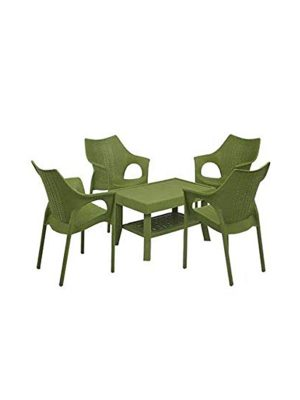 Garden chair table set