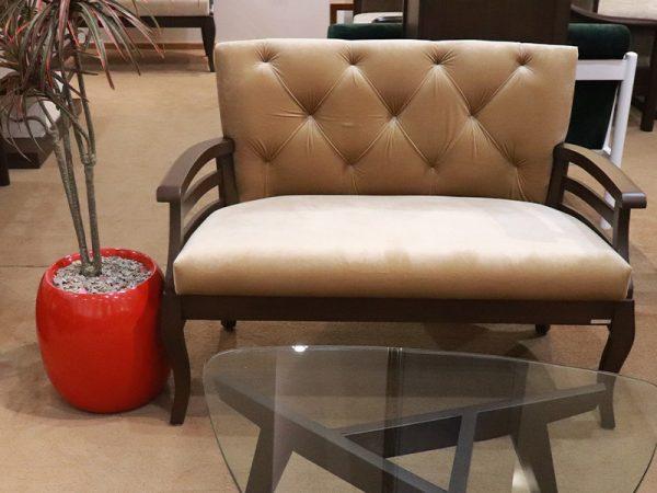 2 seater sofa off white color
