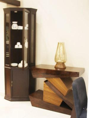 Wooden cutlery cabinet