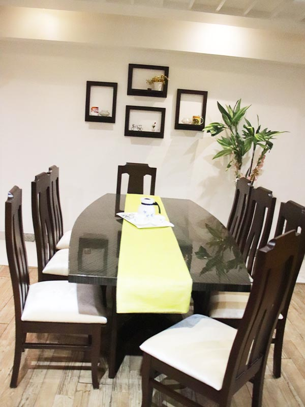 8 seater dinning table set
