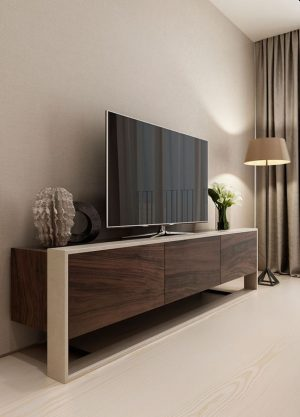 Wooden LCD unit cabinet