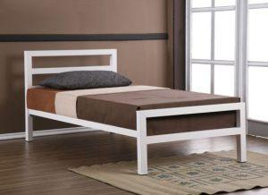 teakwood single bed