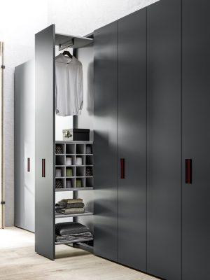Grey theme wardrobe